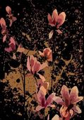 Japanese flower — Stock Vector