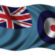 Flag of the Royal Air Force — Stock Photo