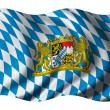 Royalty-Free Stock Photo: Flag of Bavaria