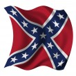 US Confederacy flag — Stock Photo