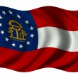 Georgia Flag — Stock Photo #2805876