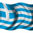 Flag of Greece - Stock Photo