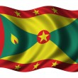 Royalty-Free Stock Photo: Flag of Grenada
