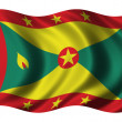 Флаг Гренады — Стоковое фото