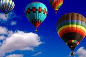 Ballon-rennen — Stockfoto