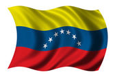 Flag of Venezuela — Stock Photo