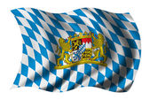 Flag of Bavaria — Stock Photo
