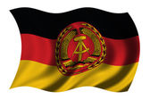 Flag of East Germany — Stock Photo