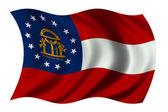 Georgia Flag — Stock Photo