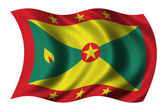 Flag of Grenada — Stock Photo