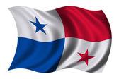Flag of Panama — Stock Photo
