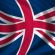 Flag of Great Britain - Lizenzfreies Foto