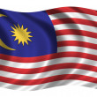 Royalty-Free Stock Photo: Flag of Malaysia