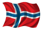 Flag of Norway — Stock Photo