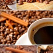 Coffee collage — Stock Photo #2778429