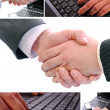 Business collage — Stock Photo #2778478