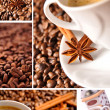 Coffee collage — Stock Photo #2820096