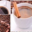 Coffee collage — Stock Photo #2820121