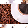 Coffee collage — Stock Photo #2820142