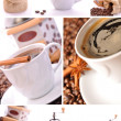 Coffee collage — Stock Photo #2820180
