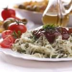 Delicious pasta dish — Stock Photo