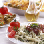 Delicious pasta dish — Stock Photo #2834949