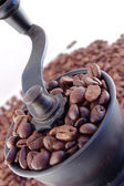 Coffee handmill — Stock Photo
