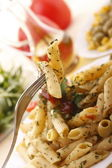 Delicious pasta dish — Stock Photo
