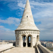 Spire of Fisherman's Bastion — Stock Photo