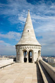 Spire of Fisherman's Bastion — 图库照片