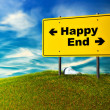 Stock Photo: Happy or end