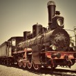 Steam train — Stockfoto