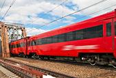 Osobní vlak — Stock fotografie