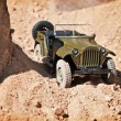 Toy military car — Stock Photo