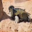 Toy military car — Stock Photo #3660299