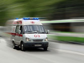 Ambulance auto — Stockfoto