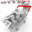 Shopping carts — Stock Photo #3023237
