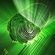 Stock Photo: Fingerprinting