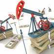 Oil pumps - Foto Stock