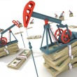 Oil pumps - Stockfoto