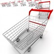 Shopping carts — Stock Photo #3023458