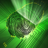 Fingerprinting — Stock Photo