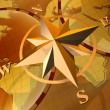 Compass rose — Stock Photo