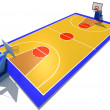 Basketball court — Stock Photo #3306449