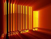 Bar-code — Stockfoto