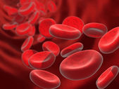 Blood cells — Foto Stock