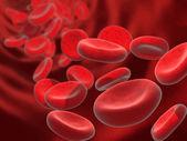 Cellen van het bloed — Stockfoto