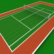 Tennis court — Stock Photo #3505541
