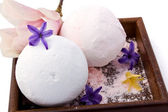 Scented Bath Powders — Stock Photo