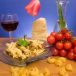 Italian Cuisine - Pasta - Stock Photo